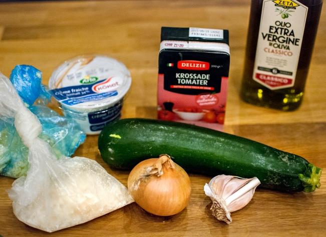 lasagneingredienser