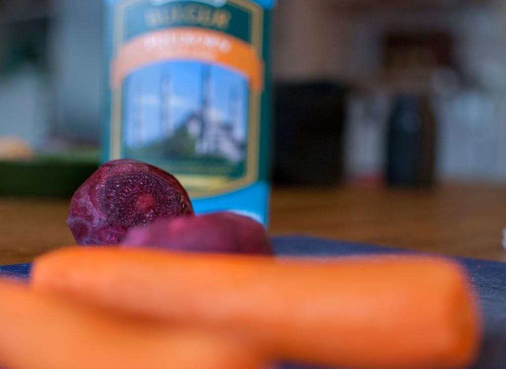 råvaror grönsaksbulgur