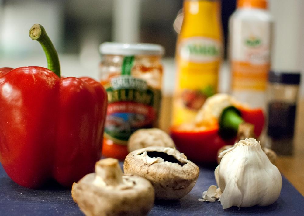 paprikagulasch ingredienser