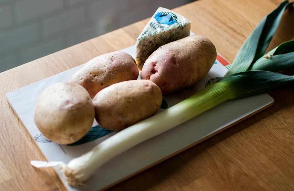 veckansvego potatisgratäng ingredienser