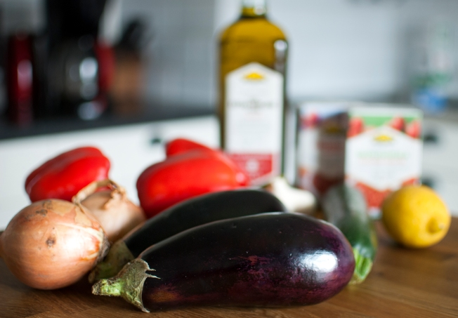 veckansvego ratatoulle ingredienser