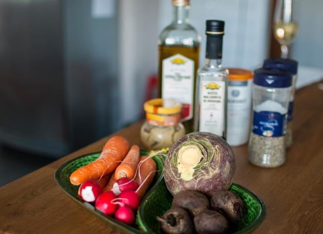 veckansvego ingredienser marinerad råkost