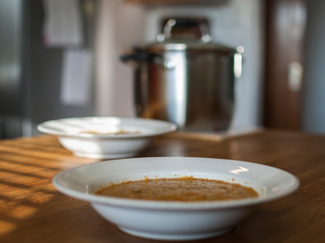 veckansvego gazpacho färdig