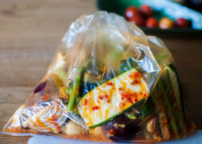 veckansvego grönsaker i marinad