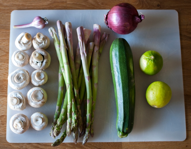 veckansvego grillgrönsaker