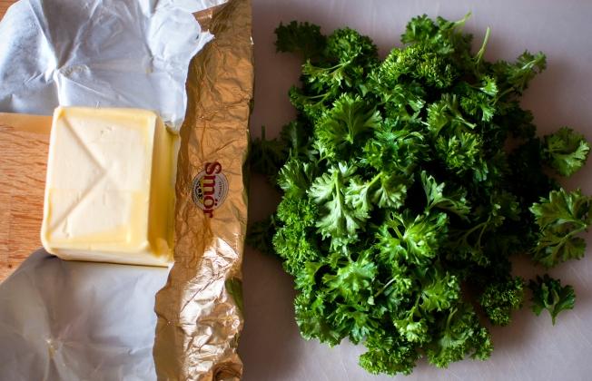 veckansvego ingredienser till persiljesmör