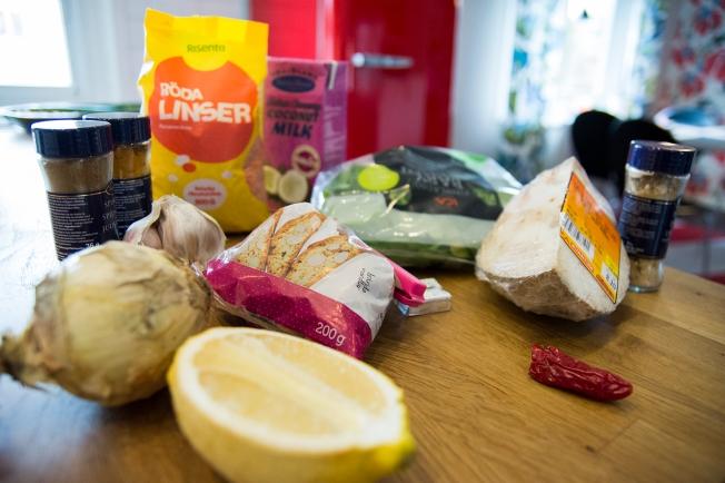 veckansvego ingredienser persisk linsgryta