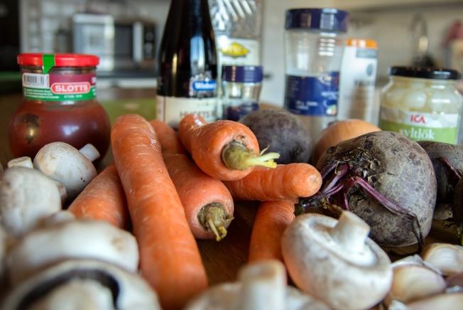 veckansvego ingredienser vego bourguignon