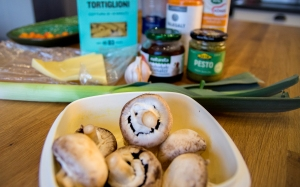veckansvego italiensk pastagratäng ingredienser