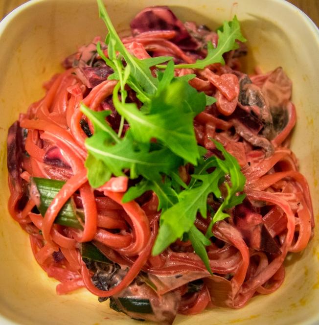 veckansvego färdig pasta rosso närbild
