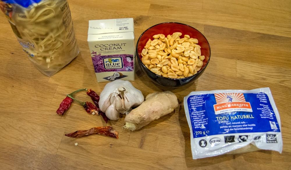 veckansvego ingredienser tofu satay