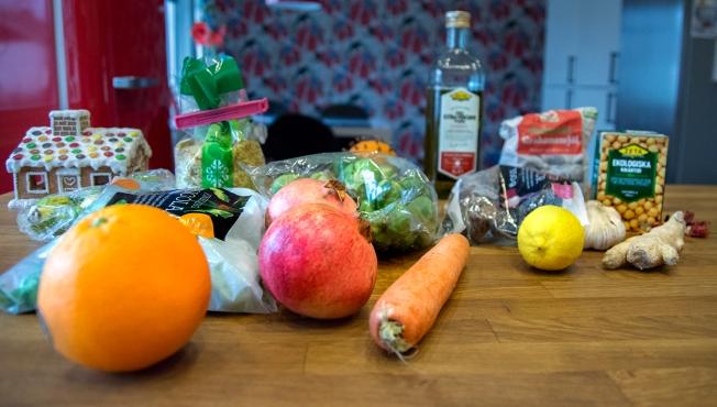 veckansvego ingredienser färgstark julmat