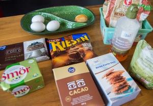 veckansvego ingredienser kladdig chokladkolakaka