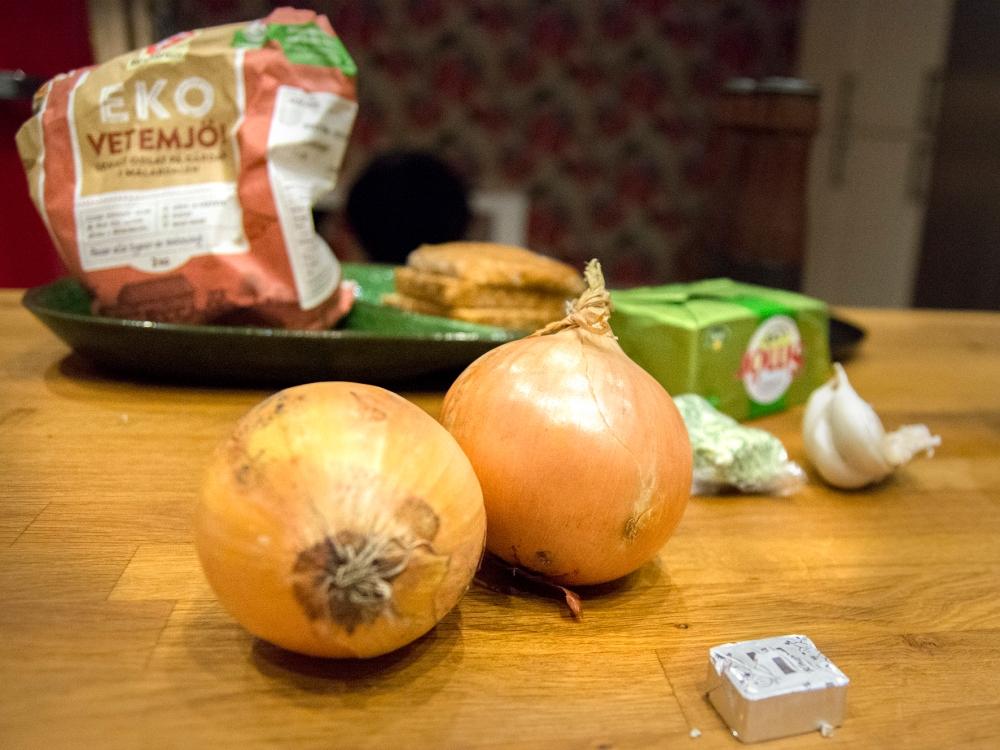 veckansvego ingredienser löksoppa