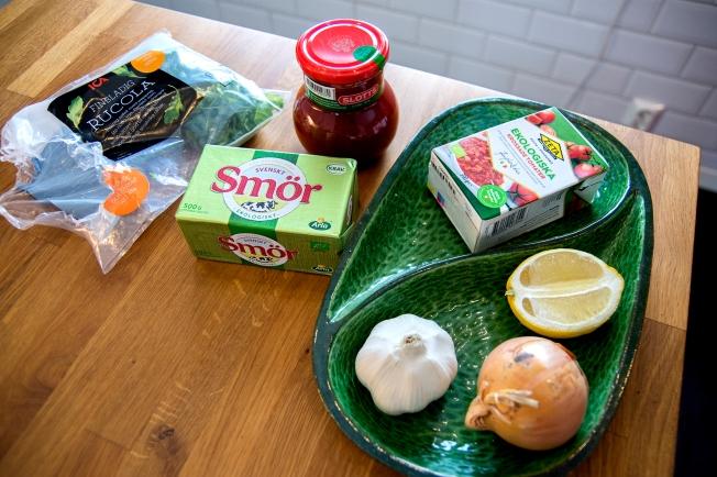 veckansvego ingredienser tomatsås deluxe