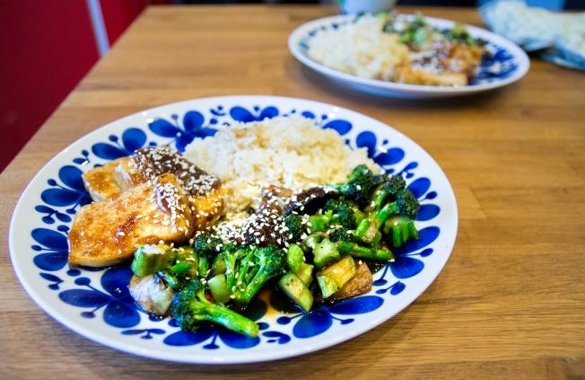 veckansvego färdig hoisinglacerad tofu