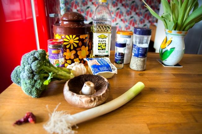 veckansvego ingredienser hoisinglacerad tofu