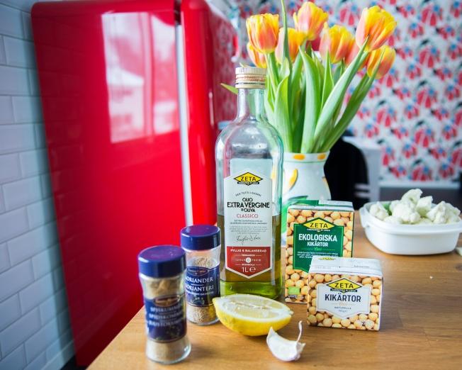 veckansvego ingredienser hummus