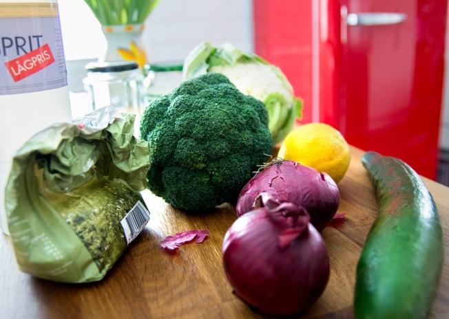 veckansvego ingredienser picklade grönsaker