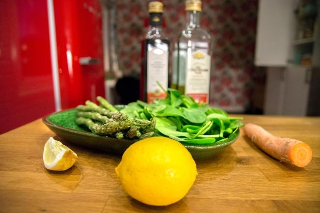 veckansvego ingredienser vårsallad
