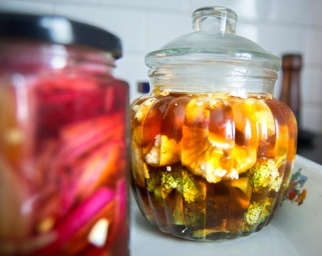 veckansvego picklade grönsaker