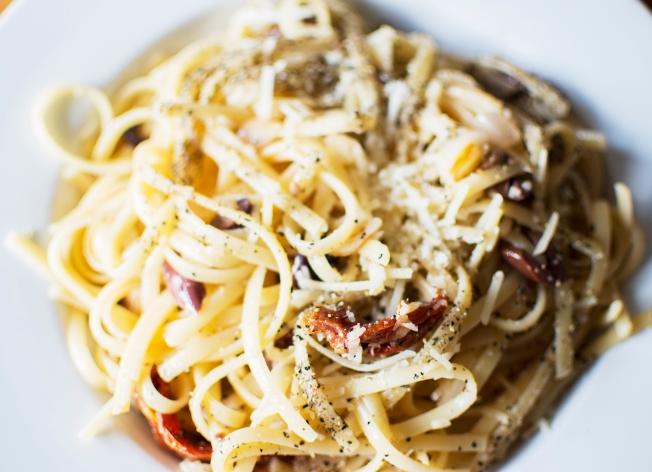 veckansvego färdig pasta carbonara