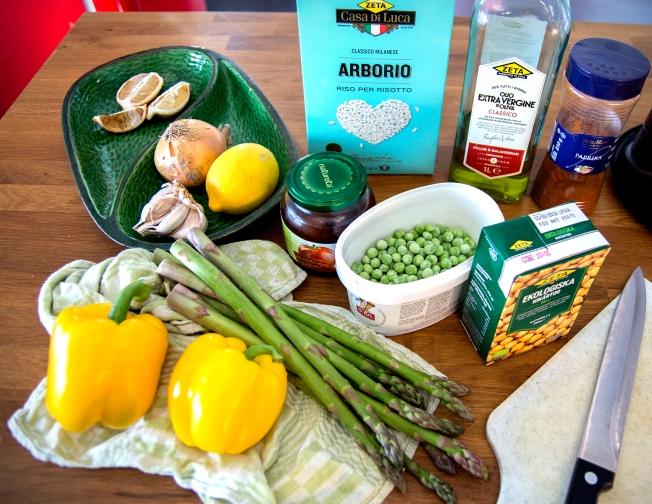 veckansvego ingredienser paella