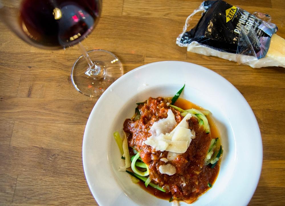 veckansvego färdig zucchinispaghetti