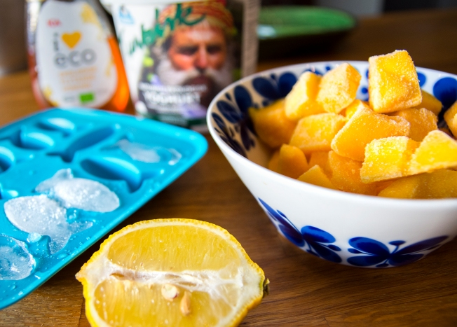 veckansvego ingredienser svalkande mango lassi