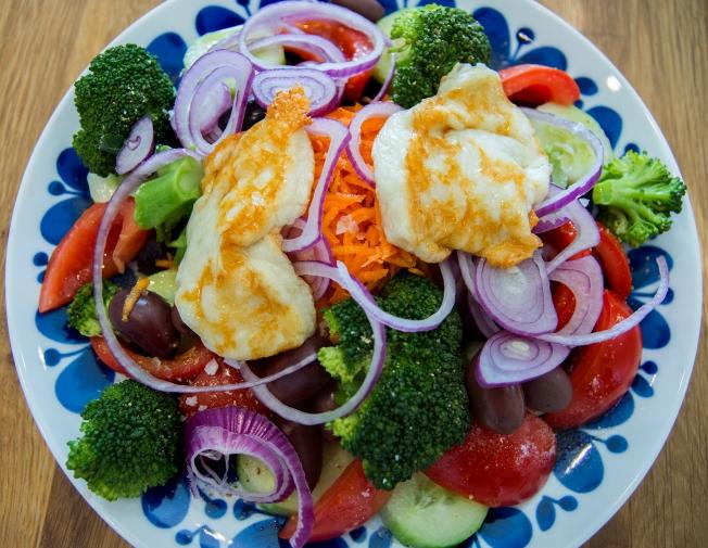 veckansvego färdig grekish sallad