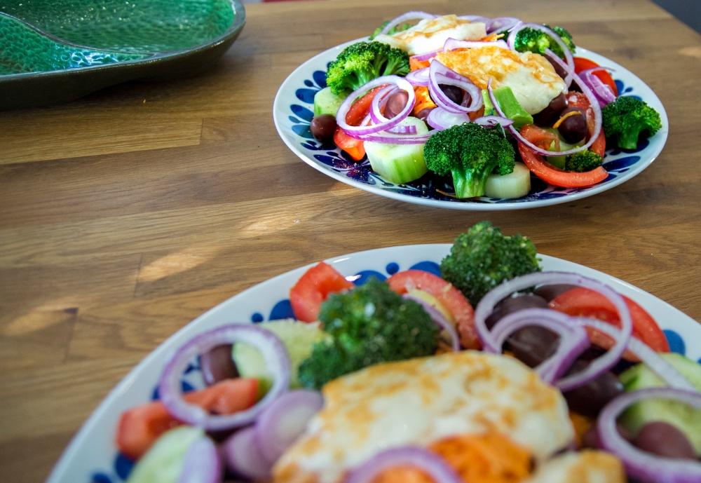 veckansvego färdig grekish sallad3