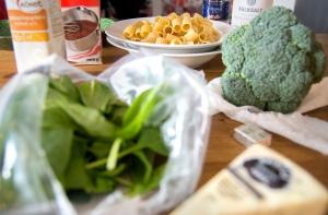 veckansvego ingredienser pasta cest bon