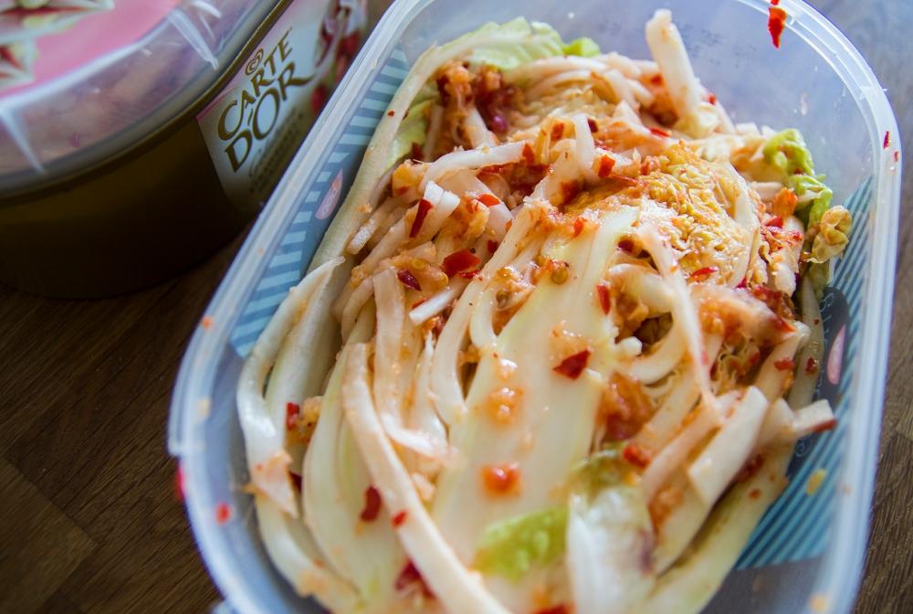 veckansvego färdig kimchi