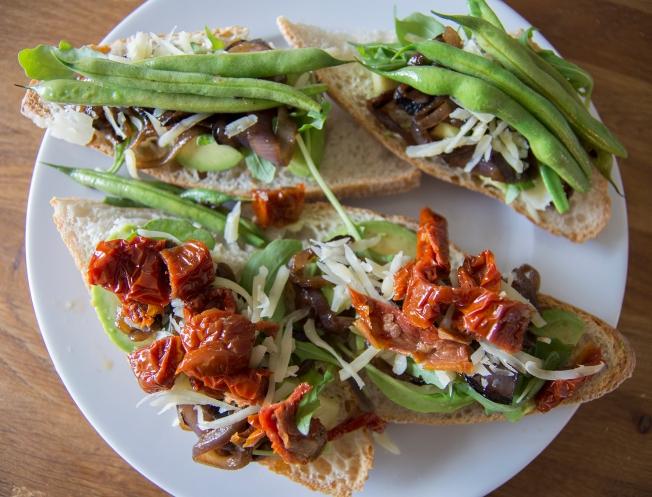 veckansvego färdiga lunchmackor med variation