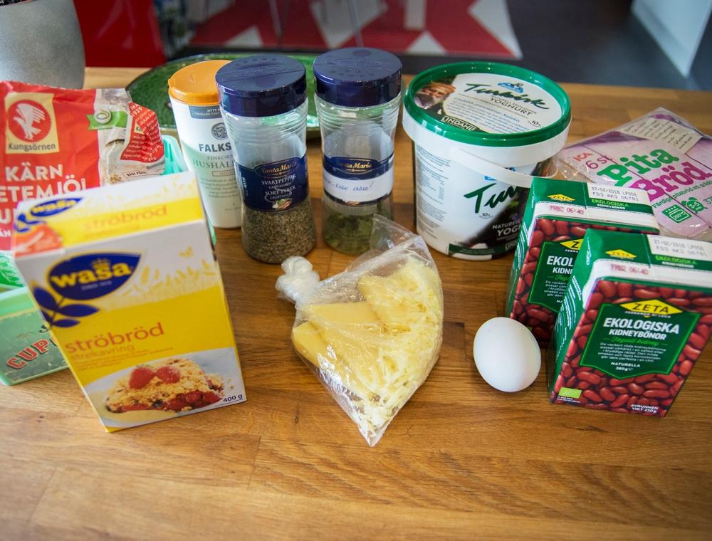 veckansvego ingredienser fritters