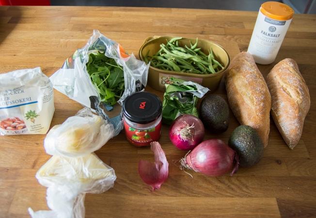 veckansvego ingredienser lunchmackor med variation