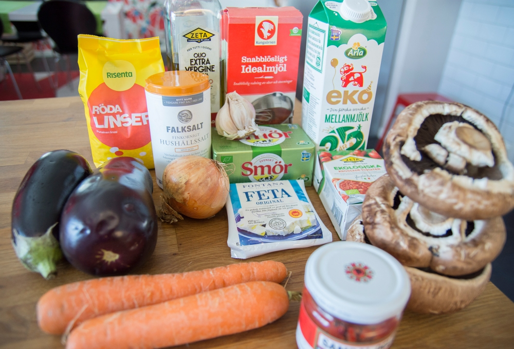 veckansvego ingredienser moussaka