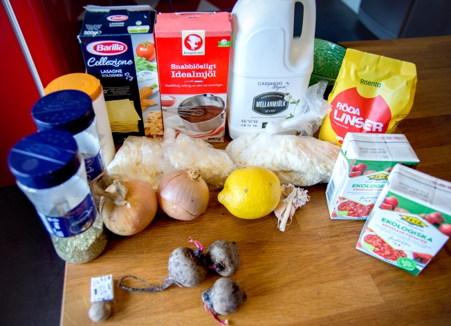 veckansvego-ingredienser-lasagne-med-linser