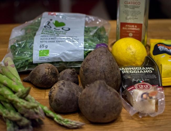 veckansvego-ingredienser-rodbetscarpaccio