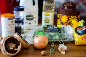 veckansvego-ingredienser-vegetarisk-kottfarslimpa